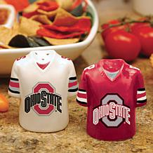 Ceramic Salt and Pepper Shakers - Ohio State
