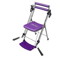 Chair Gym Exercise System with Twister Seat and 5 DVDs