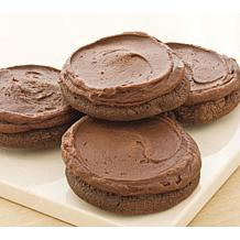 Cheryl's 24-Piece Frosted Triple Chocolate Cookies
