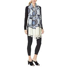Clever Carriage Marrakesh Embroidered Wrap Scarf