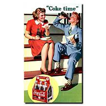 """Coca-Cola """"Coke Time"""" Canvas Art"""