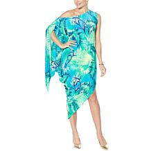 Coldesina Jenny Adjustable Neck Maxi Dress