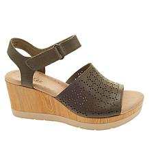 b2fe9fdfd3d4 ... Collection by Clarks Cammy Glory Leather Wedge Sandal ...
