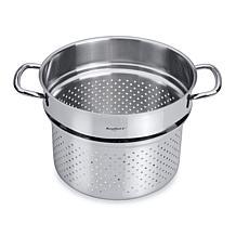 "CollectNCook 9.5"" 18-10 Stainless Steel Pasta Insert"