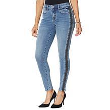 Colleen Lopez Side Stripe Skinny Jean