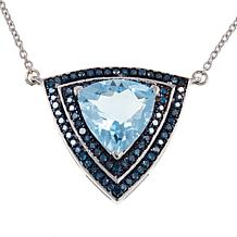 """Colleen Lopez Trilliant Gem and Diamond 18"""" Necklace"""