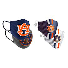 Colosseum Collegiate NCAA Team Logo Face Covering 4-Pack - Auburn