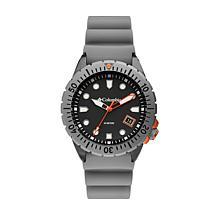 "Columbia ""Pacific Outlander"" Men's Gray Silicone Strap Watch"