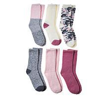 Comfort Code 6-pack Cozy Crew Socks