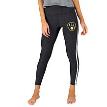 Concepts Sport Officially Licensed MLB Ladies Legging - Brewers
