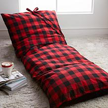 Concierge Collection Oversize Lounge Floor Pillow with Storage Bag