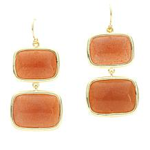 Connie Craig Carroll Jewelry Peyton Gemstone Double Drop Design