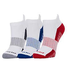 Copper Fit™ 3-pack Unisex Compression Bamboo Socks