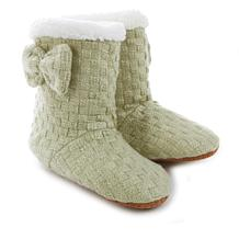 Cottage Collection Crochet Booties