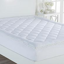 Cottage Collection  Mattress Pad with Floral Gusset