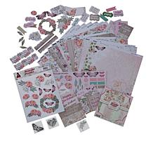 Couture Creations Peaceful Peonies Papercrafting Collection