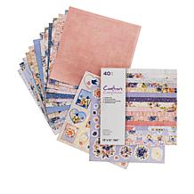 """Crafter's Companion 12"""" x 12"""" Full Blooms Paper Pad"""