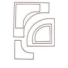 Crafter's Companion Drunkard's Path Build-A-Block Curves
