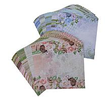"""Crafter's Companion Floral 12"""" x 12"""" Double-Sided Paper 2-pack"""
