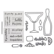 Crafter's Companion Gemini Celebrate  Shaker Stamp & Die Bundle