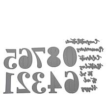 Crafter's Companion Gemini Cut-In Number Die Set