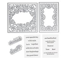 Crafter's Companion Gemini Frame Stamps and Dies