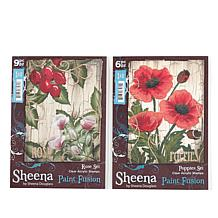 Crafter's Companion Sheena Paint Fusion Stamp Kit