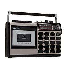 Crosley CT100 Cassette Player w/AM & FM Radio, Recorder & Bluetooth