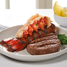 Curtis Stone 5 oz. Aussie Filet Mignon and Lobster Tails