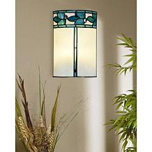 Dale Tiffany Green Leaves Wall Sconce