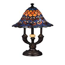 Dale Tiffany Royal Peacock Tiffany-Style Table Lamp