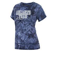 Dallas Cowboys Women's Sisal Tie Dye Print Top