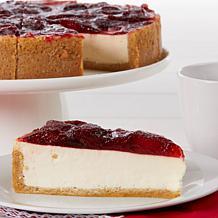 "David's Cookies Set of 2 10"" Strawberry Cheesecakes Auto-Ship®"