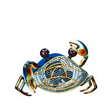 DecoBREEZE Single Speed Blue Crab Figurine Fan