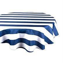 Design Imports Cabana Stripe Tablecloth