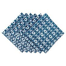 Design Imports IKAT Outdoor Napkin Set of 6