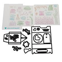 Diamond Press Everyday Gable Box Stamp and Die Set