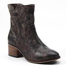 Diba True West Haven Leather Western Ankle Boot