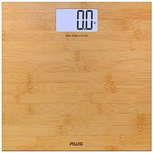 Digital Bamboo Scale with Large LCD Display