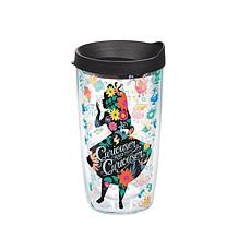 Disney Alice in Wonderland Curiouser Tumbler with lid