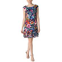 Donna Ricco Extended Sleeve Cupcake Dress