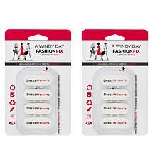 DressWeights Reusable Windy Day Fashion Fix 8-piece Kit
