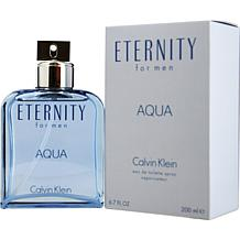 Eternity Aqua by Calvin Klein - Spray for Men 6.7 oz.