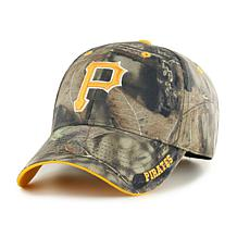 Fan Favorite Pittsburgh Pirates MLB Mossy Oak Adjustable Hat