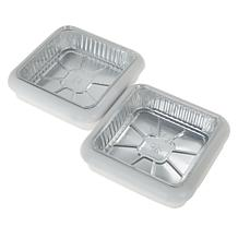 "Fancy Panz 2-pack 8"" x 8"" Stackable Serving Pans"