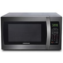 Farberware Black 1.3 Cu. Ft. 1100W Microwave Oven w/ Smart Sensor