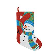 Festive Frosty Stocking