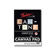 "FREDRIX Can-Tone Multi-Color Canvas 8-Sheet Pad 12"" x 16"""