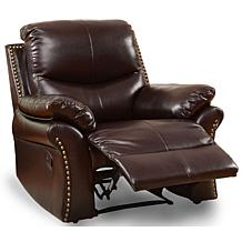 Furniture of America Gladdis Bonded Leather Recliner