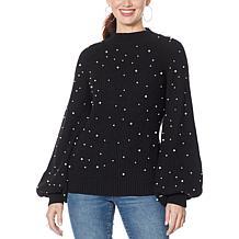 G by Giuliana Beaded Sweater
